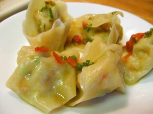 Chinese wonton picture